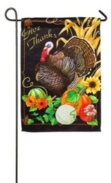 Harvest Greetings Flag, Small