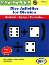 Dice Activities for Division with CD-Rom, Grades 4-6