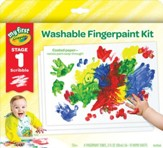 Crayola, My First Crayola Fingerpaint Kit