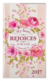 2017 My Heart Rejoices Daily Planner, Small