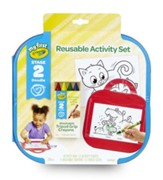 Crayola, My First Crayola Reusable Activity Kit, On-the-Go
