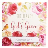 2017 The Beauty of God's Grace Wall Calendar, Large