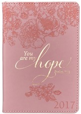 2017 You Are My Hope Daily Planner, LuxLeather, Small