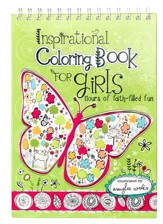 Inspirational Coloring Book for Girls