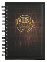 I Know The Plans Wirebound Journal, Large