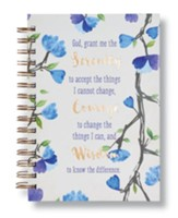 Serenity Prayer, Wirebound Journal