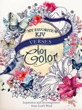 My Favorite KJV Verses, Coloring  Book