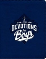 One-Minute Devotions for Boys, Imitation Leather
