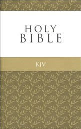 KJV Thinline Gold Edition, softcover
