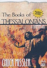 The Books of Thessalonians I & II - An Expositional Commentary on MP3-CD with CD-ROM