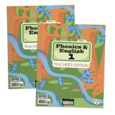 BJU Press Phonics & English 1 Teacher's Edition (Revised)