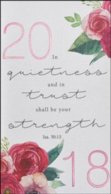 2018 Quietness and Trust, Daily Planner, Small