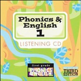 BJU Phonics & English Grade 1 Songs Audio CD