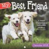 2018 My Best Friend, Wall Calendar, Small