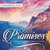 2018 God's Promises, Wall Calendar, Small