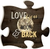 Love You To the Moon and Back, Puzzle Art