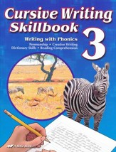 Abeka Cursive Writing Skillbook Grade 3 (New Edition)