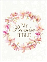 KJV My Promise Bible, White pink floral                        - Slightly Imperfect