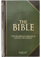 NKJV Bible with GRASSROOTS Reflections