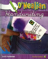 D'Nealian Handwriting Teacher Edition Grade 4 (2008 Edition)