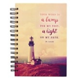 Your Word is a Lamp For My Feet Spiral-bound Journal