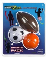 NightZone Sports Pack