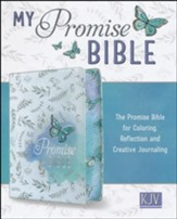 KJV My Promise Bible, White with butterfly                  - Imperfectly Imprinted Bibles