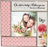 Oh, What a Lovely Mother You Are, Glass Photo Frame