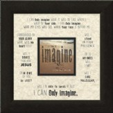 I Can Only Imagine, Beach, Framed Art