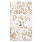 Promises From God For Women, Lux Leather, Floral and Butterflies