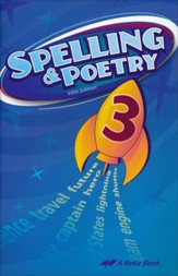 Abeka Spelling & Poetry 3, Fifth  Edition
