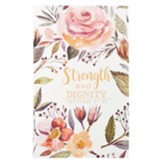 Strength and Dignity Journal, Flexcover, Floral