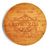 Personalized, Lazy Susan, Family, Cherry