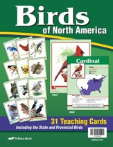 Abeka Birds of North America Flash Cards--Grades 4 to 6