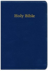 KJV Student Bible (Blue  Leather-flex)