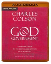 God & Government: An Insider's View on the Boundaries between Faith & Politics - unabridged audio book on MP3-CD