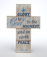 Glory To God In the Highest Wall Cross