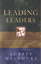 Leading Leaders: Empowering Church Boards for Ministry Excellence - eBook