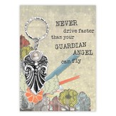 Guardian Angel Key Ring, Courage