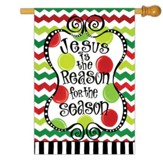 Jesus is the Reason for the Season, Large Flag