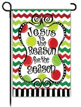 Jesus is the Reason for the Season, Small garden flag