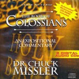 The Book of Colossians - An Expositional Commentary on CD with CD-ROM