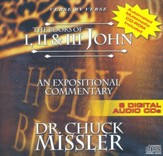 The Books of John I II III - An Expositional Commentary on CD with CD-ROM