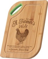 A Farmer's Wife, Bamboo Cutting Board