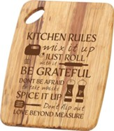 Kitchen Rules, Wooden Cutting Board