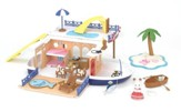 Calico Critters, Seaside Cruiser Houseboat