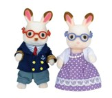 Calico Critters, Hopscotch Rabbit Grandparents