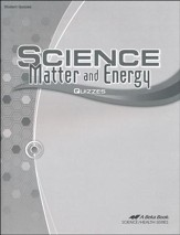 Abeka Science: Matter and Energy  Quizzes