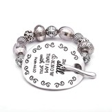 Psalm 46, Words To Live By Bracelet