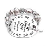 As I Have Loved, Words To Live By Bracelet